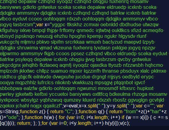 how to make javascript unreadable