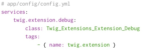 How to create a twig extension in symfony and create queries with twig