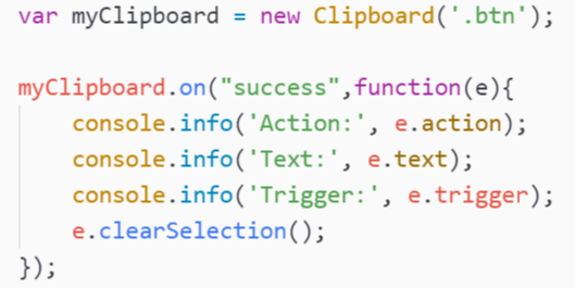 How to copy text to clipboard with Javascript easily