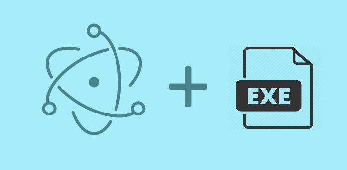 How to execute an exe file (System application) using Electron Framework
