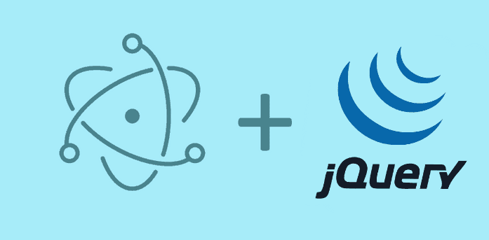 How to include and use jQuery in Electron Framework