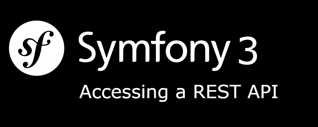 How to access a rest api in Symfony 3
