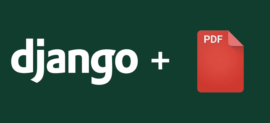How to create a PDF from HTML in Django