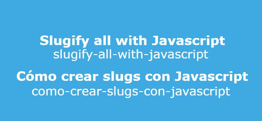 Creating URL slugs properly in Javascript (including