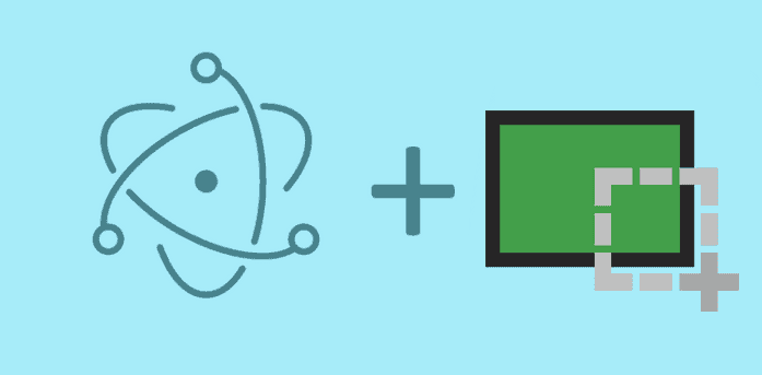 Creating screenshots of your app or the screen in Electron