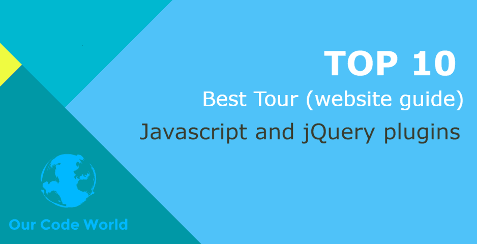 Top 10: Best Tour (website guide) Javascript and jQuery plugins