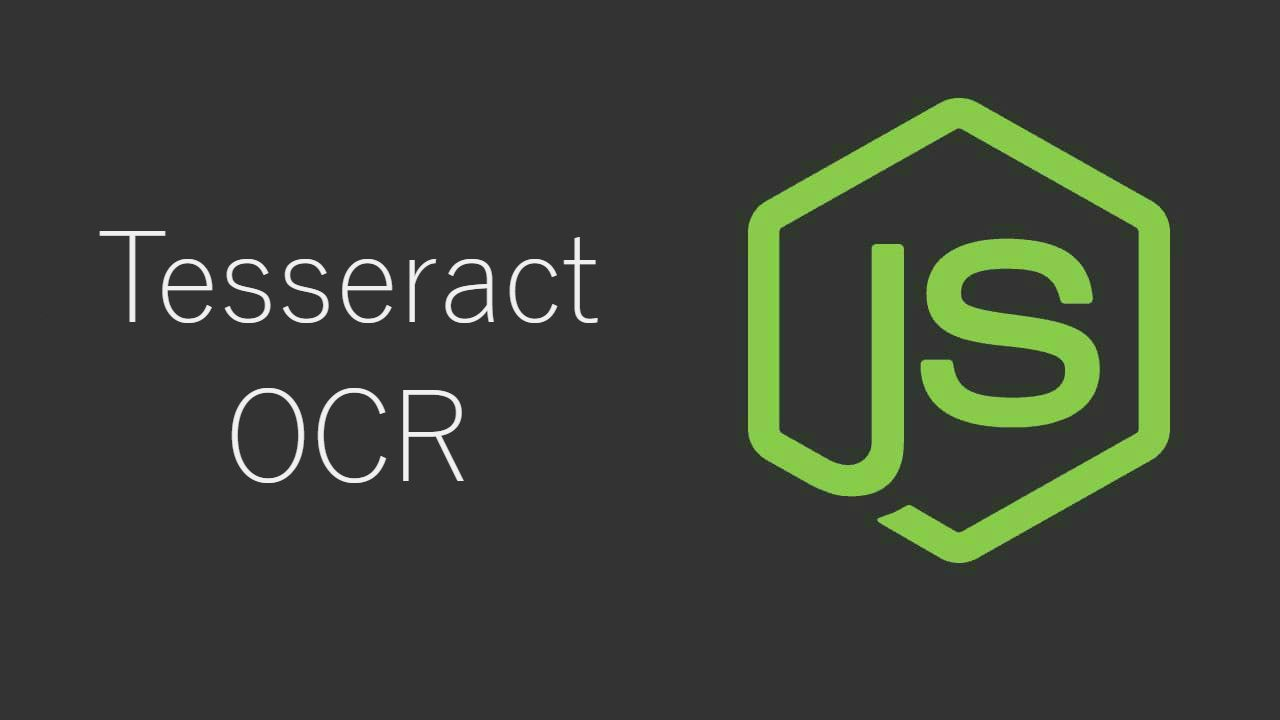 Getting started with Optical Character Recognition (OCR) with Tesseract in Node.js