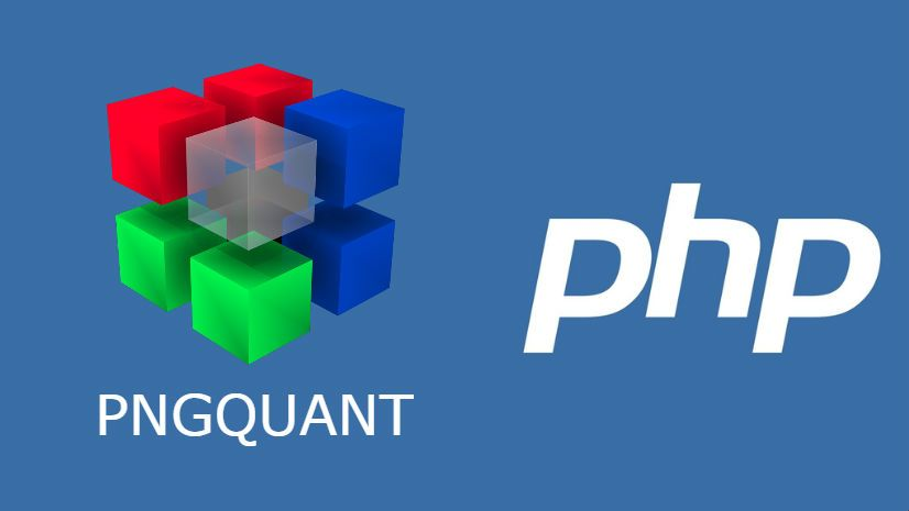 How to use pngquant with PHP