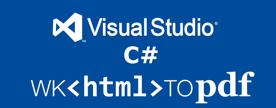 How to generate a PDF from HTML using wkhtmltopdf with C# in