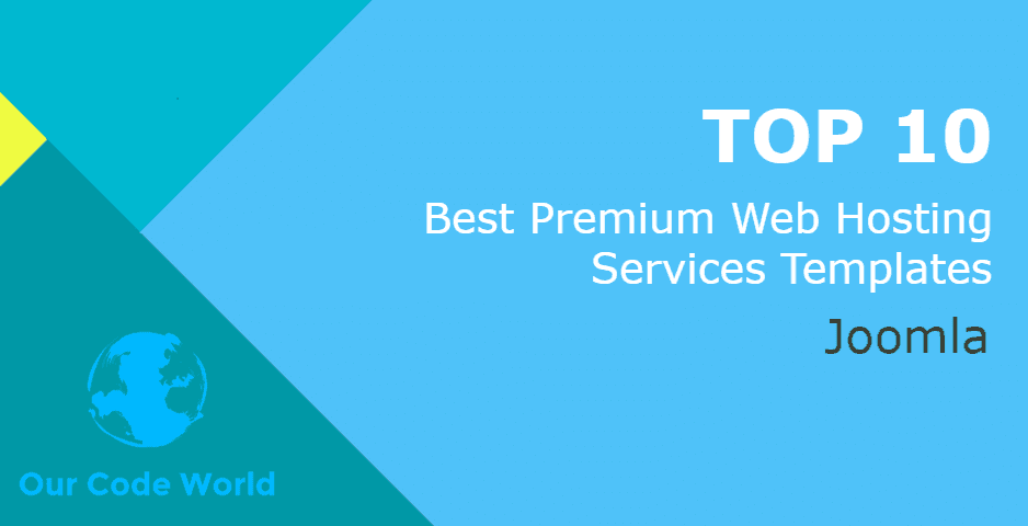 Top 10: Best Premium Joomla Web Hosting Services Templates