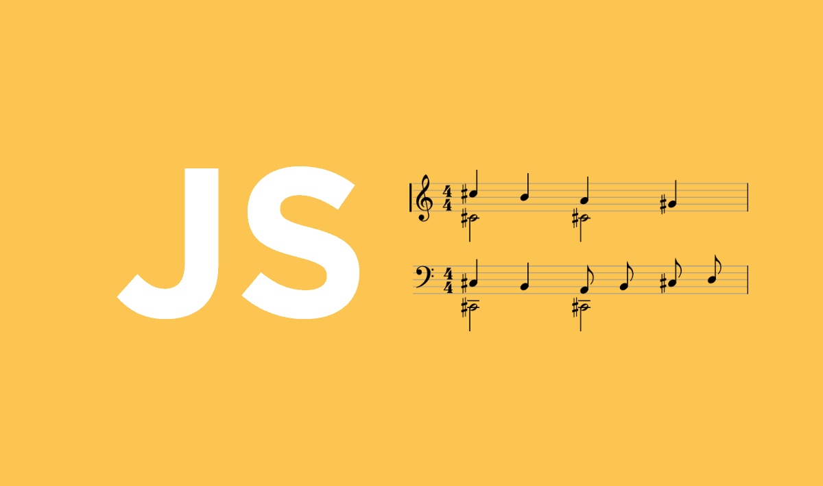 Rendering music notation (music sheet) in Javascript with VexFlow 2