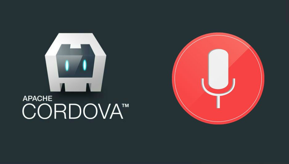How to use the Speech Recognition API (convert voice to text) in Cordova