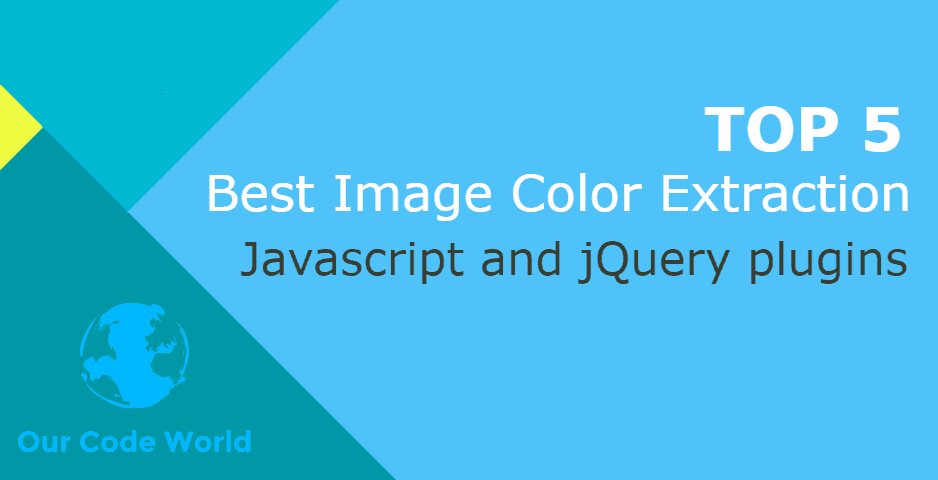 Top 5: Best Image Color Extraction JavaScript and jQuery Plugins
