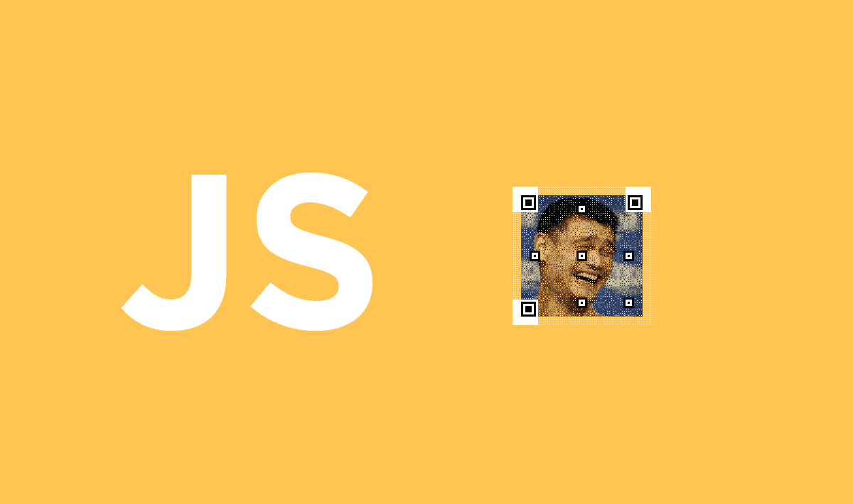 How to merge an Image into a QR Code in JavaScript | Our