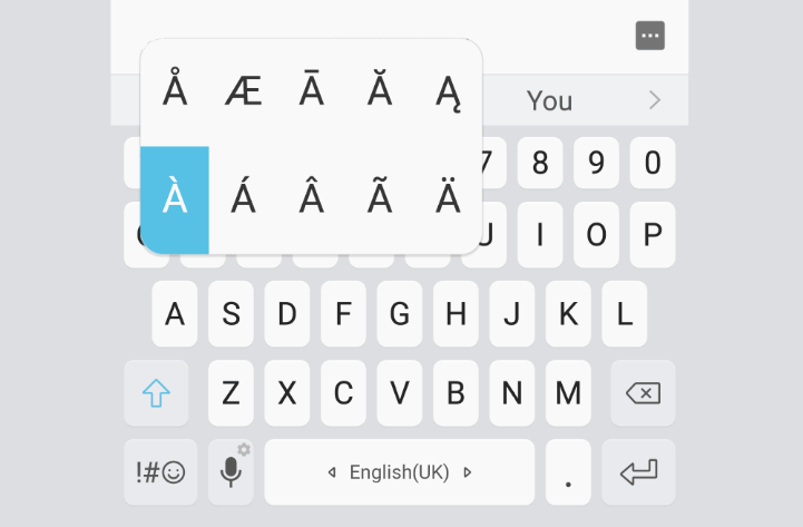 How to show an extra character selector on keyboard long press in the Browser with jQuery