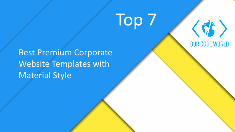 Top 7 best premium corporate website templates with material style top 7 best premium corporate website templates with material style maxwellsz