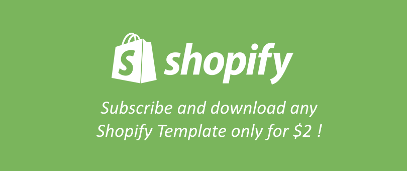 Shopify Membership at TemplateMonster: Get Premium Themes in Bulk with 99% off the Price