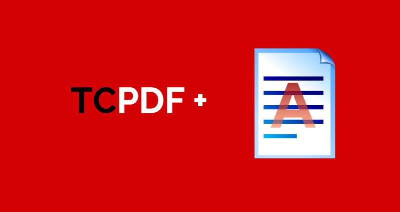 How to add a watermark on a PDF using TCPDF