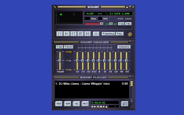 Winamp2-js: a reimplementation of Winamp 2.9 in HTML5 and Javascript