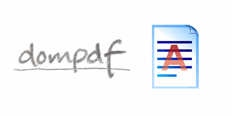 How to configure a watermark in Dompdf