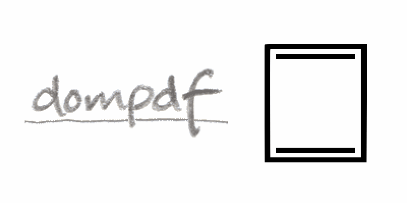 How to configure a header and footer in Dompdf