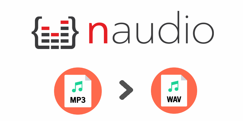 How to convert a MP3 file to WAV with NAudio in WinForms C#