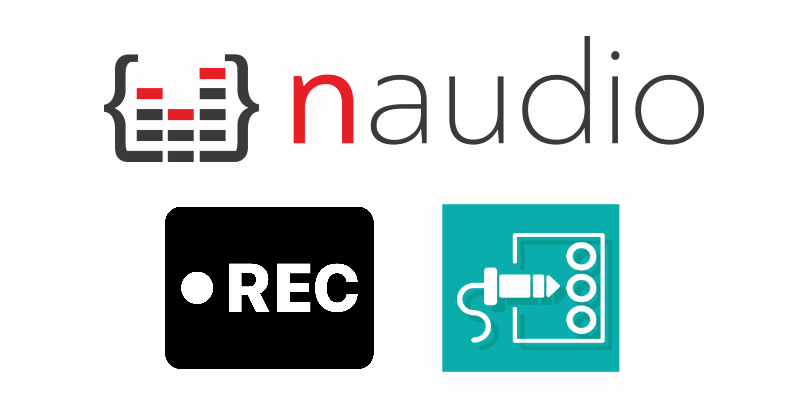 How to record the audio from the sound card (system audio) with C# using NAudio in WinForms
