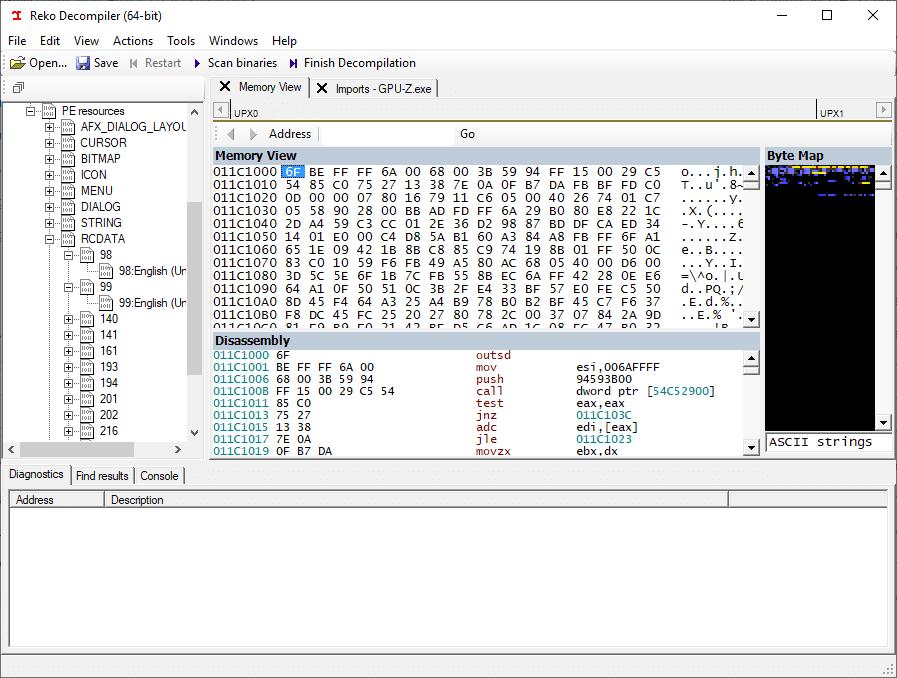Reko: a general purpose binary decompiler
