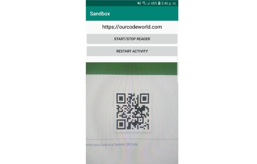 How to create a QR Code reader in Android using the QReader