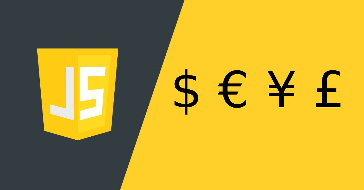 List of Currency Codes (ISO 4217 Standard) for JavaScript