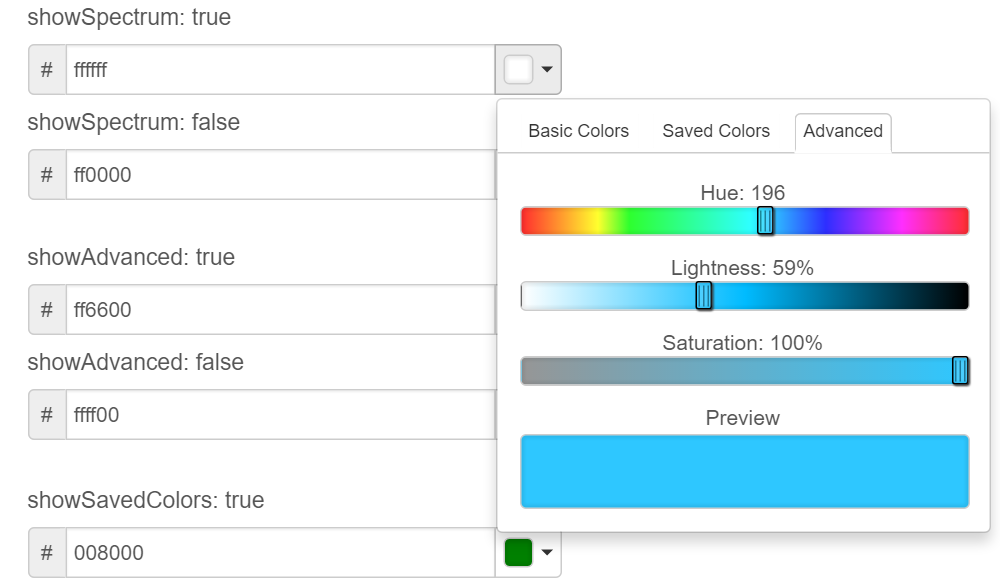 Top 5 : Best javascript and jQuery color picker plugins | Our Code World