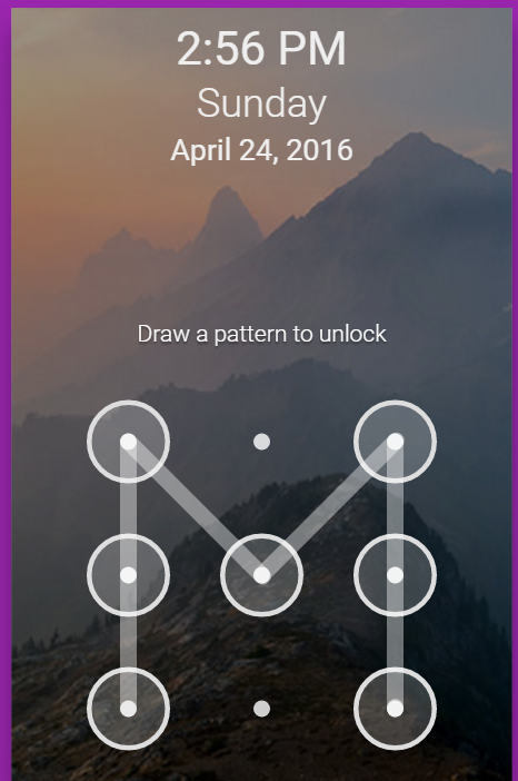Draw a pattern to unlock jQuery