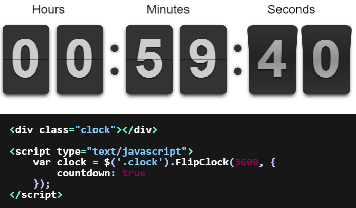 Top 5: Javascript and jQuery countdown plugins | Our Code World