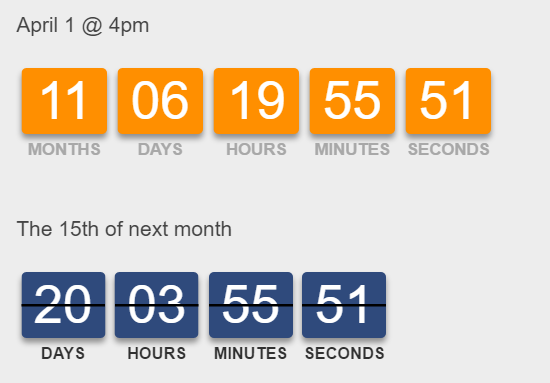 top 5 javascript and jquery countdown plugins our code world