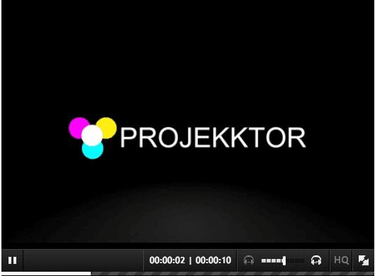 Projekktor demo