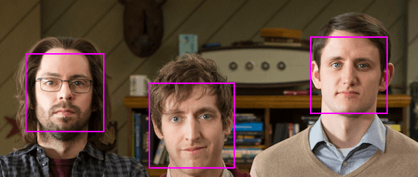 Face recognition with tracking.js