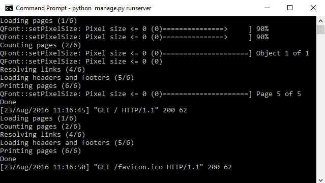 wkhtmltopdf output