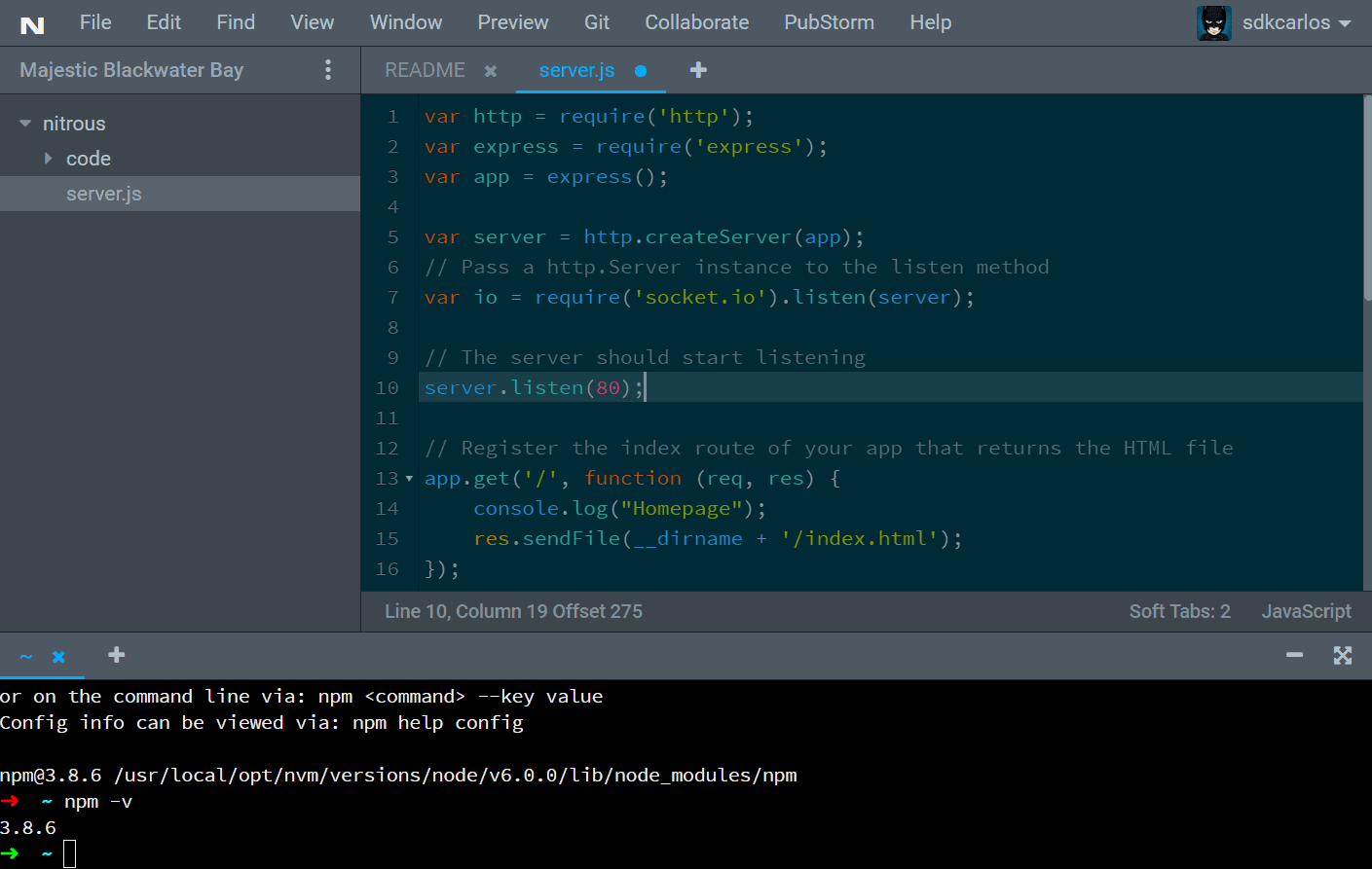 Nitrous.io Cloud IDE