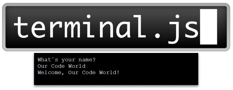 Terminal.js plugin