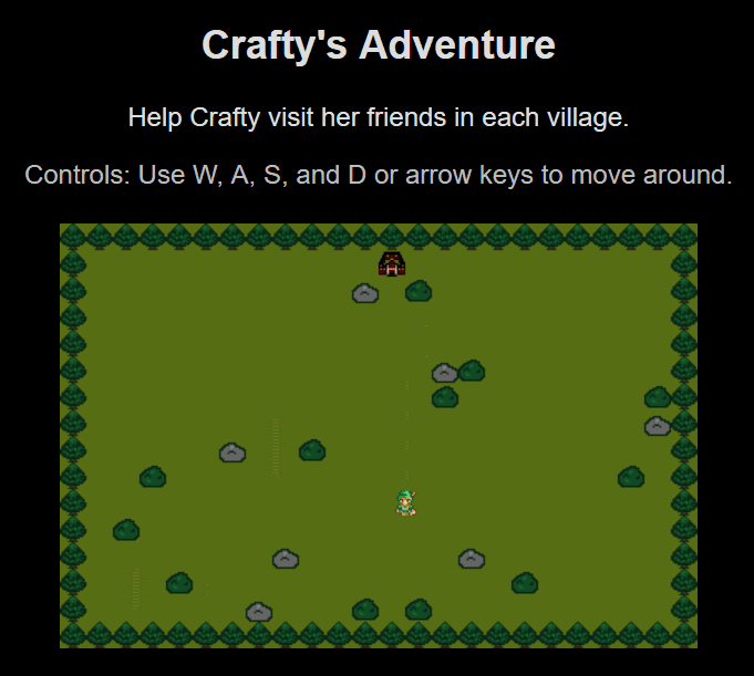 Crafty Game Engine