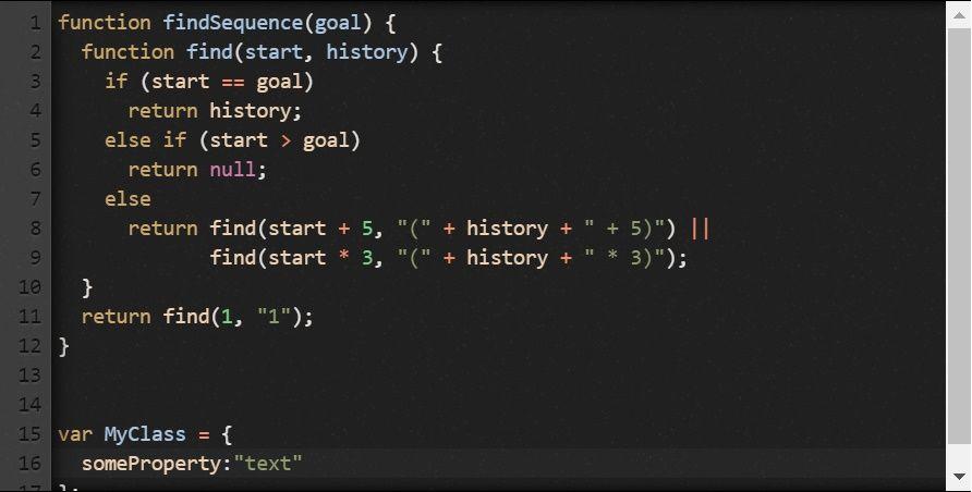 Codemirror example