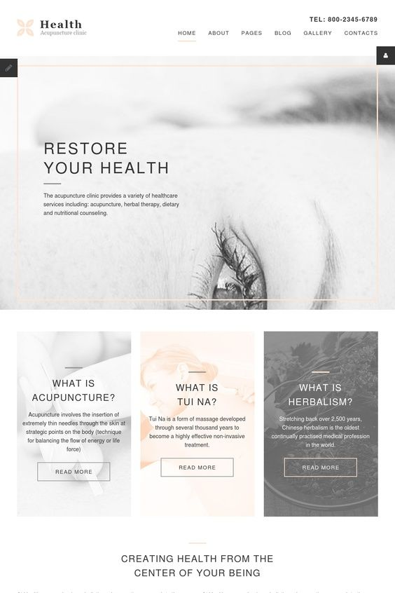 Acupuncture Medical Template
