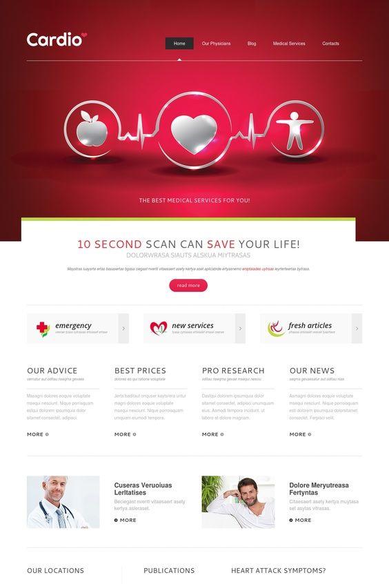 Cardio Template Joomla