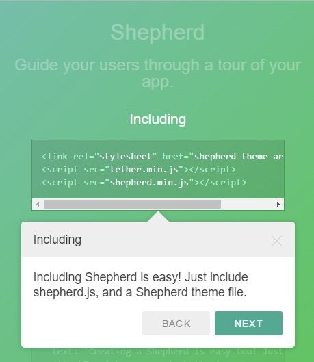 Shepherd tour plugin