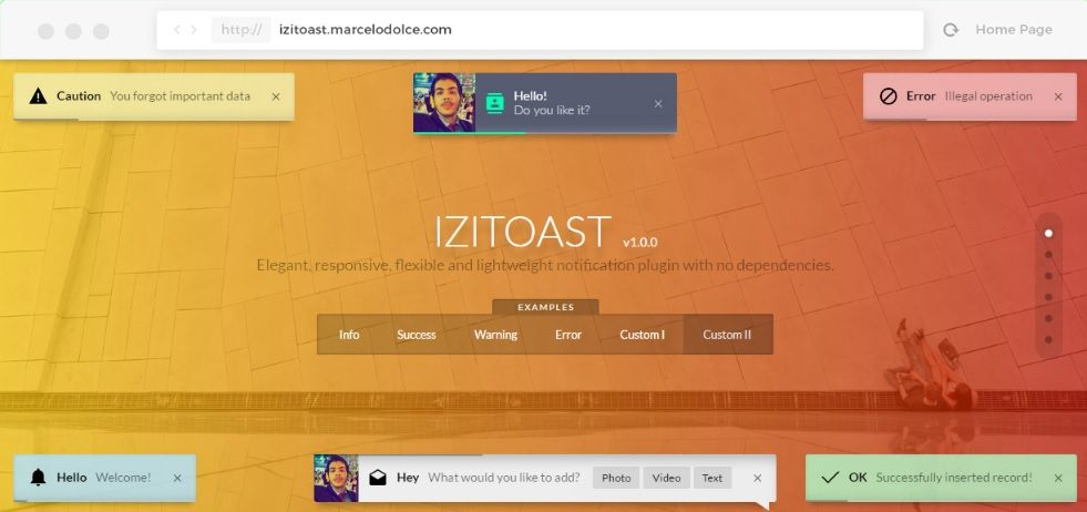 Top 10 : Best notification libraries and plugins for Javascript and