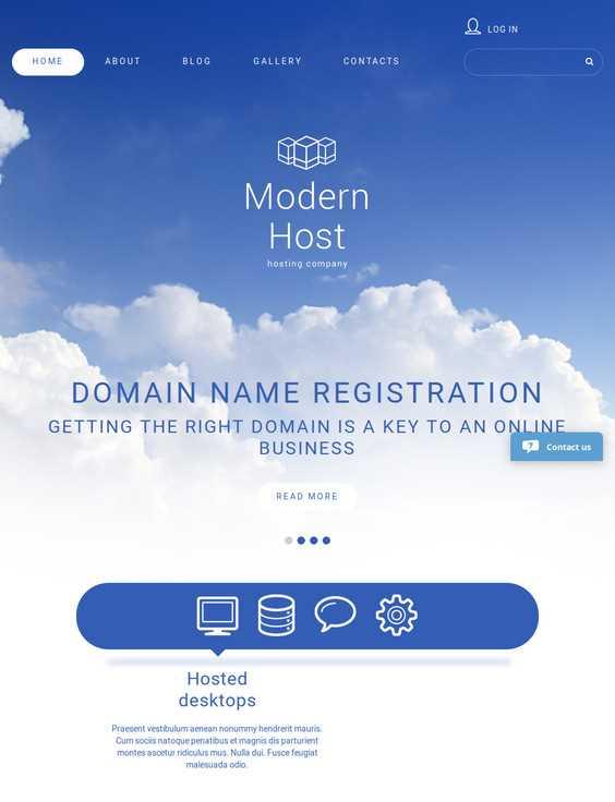 Modern Host Joomla Premium Hosting Template