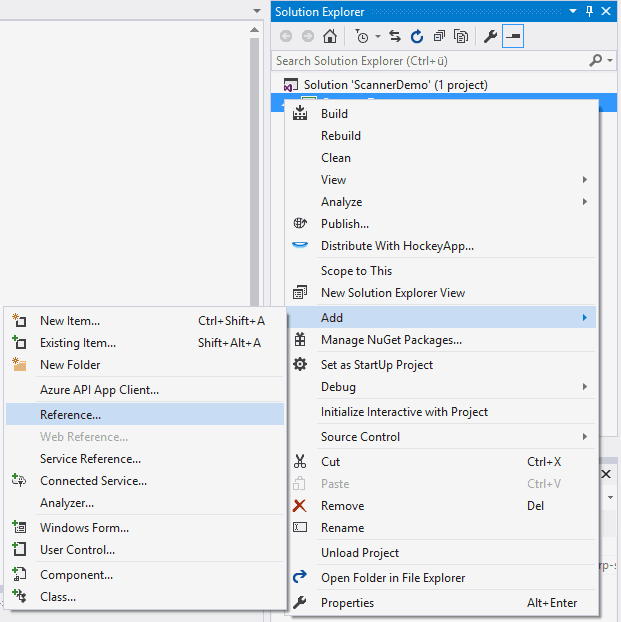 Creating a scanning application in Winforms with C# | Our
