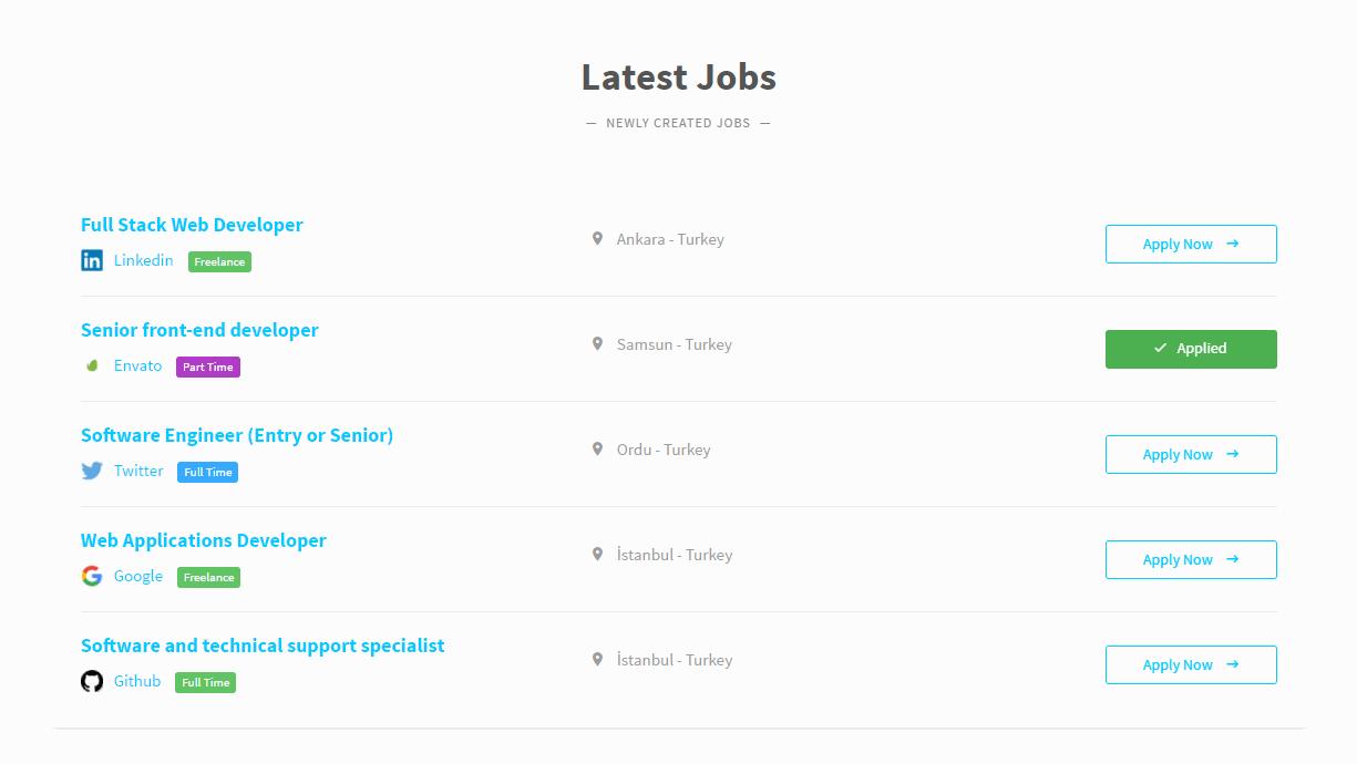 MyJob Premium Job Portal Template HTML5