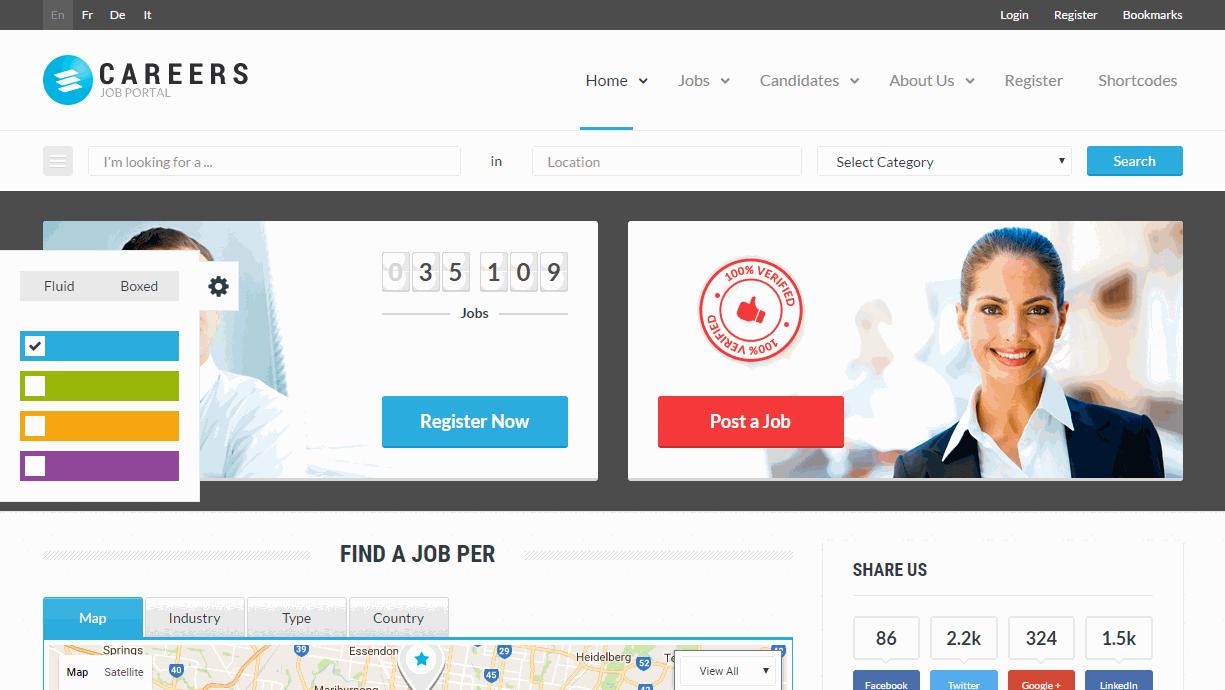 Careers Premium Job Template
