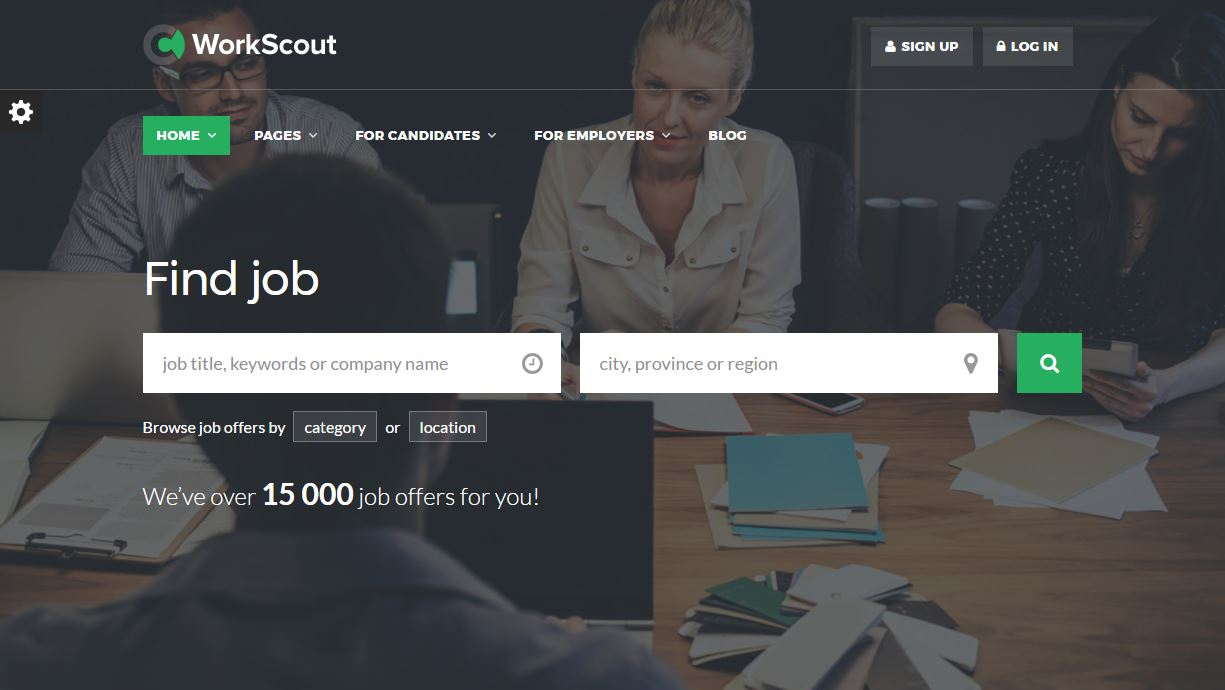 Top 15: Best premium Jobs Portal HTML templates | Our Code World